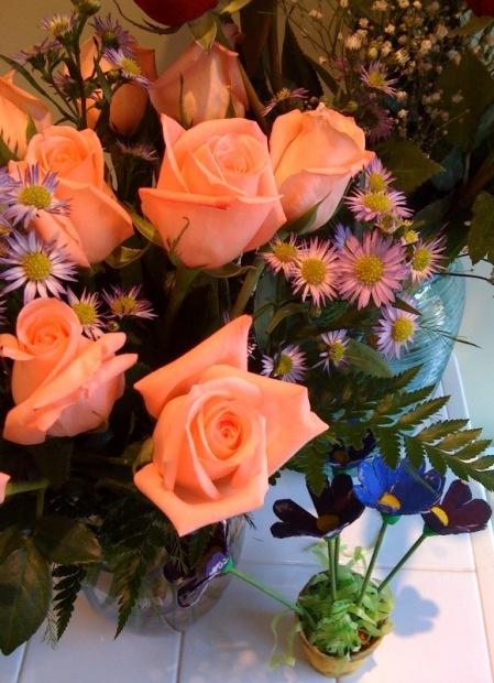 fleurs fête des mamans
