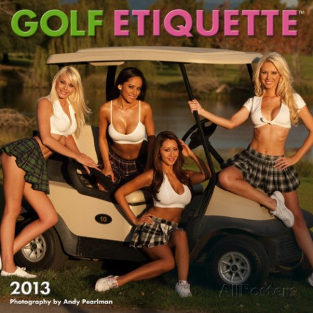 golf-etiquette-2013-calendar