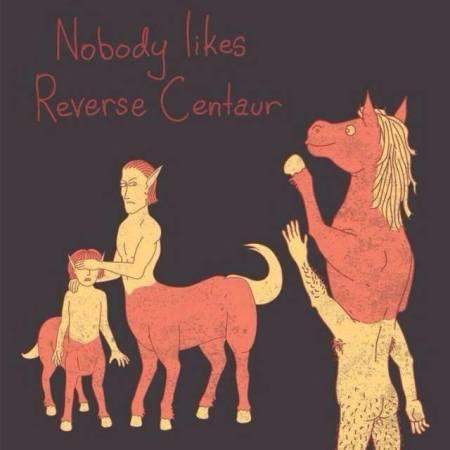 reversed centaure