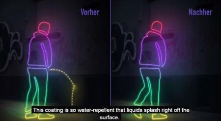mur anti urine