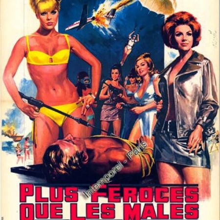 #vintage #film #deadlierthanthemale #1966 #elkesommer #sylviakoscina #girlswithguns #bikinispy #thriller #movie